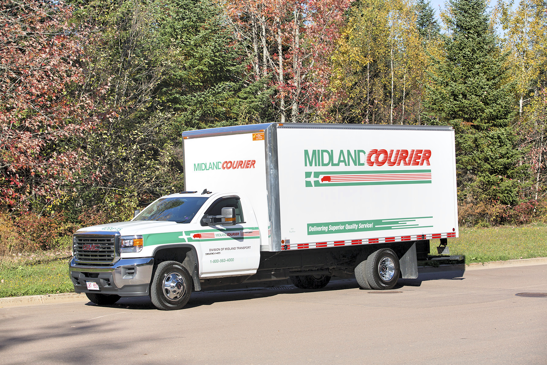 Midland Courier Technology